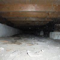 床下:シロアリ被害調査・防除工事済