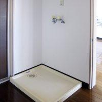 洗濯機置き場(風呂)