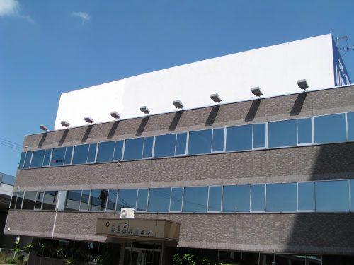 屋上看板・広告:川商第5 燕三条駅前ビル 南側(高速道路 上り側)